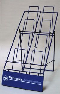 8-Pocket Literature Rack