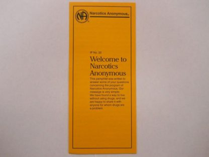 IP #22 Welcome to NA Large Print
