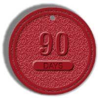 Red 90 Day Chip