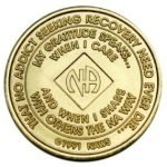 NA Bronze Medallions 45 Year NA Bronze Medallion