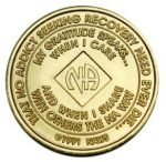 NA Bronze Medallions 42 Year NA Bronze Medallion