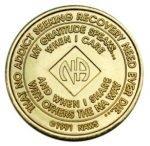 NA Bronze Medallions 34 Year NA Bronze Medallion