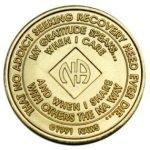 NA Bronze Medallions 26 Year NA Bronze Medallion