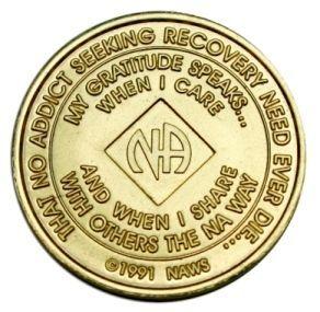 22 Year NA Bronze Medallion