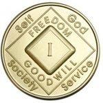 NA Bronze Medallions 1 Year NA Bronze Medallion