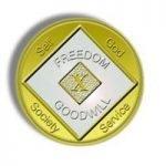 NA Bi-Plate Medallions 44 Year Medallion-Biplate