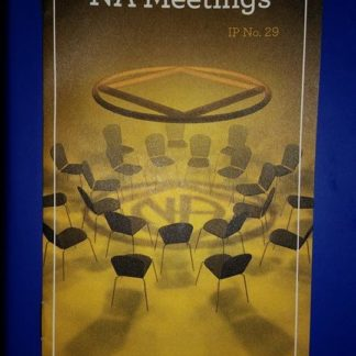 IP #29 An Introduction to NA Meetings