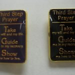 NA Lapel Pins 3rd Step Prayer Lapel Pin