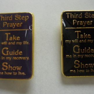 3rd Step Prayer Lapel Pin