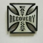 NA Lapel Pins East or West Coast Recovery