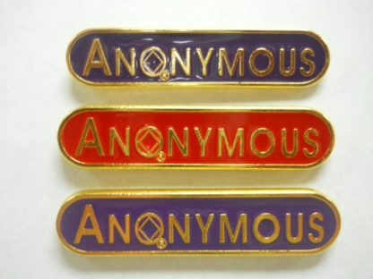 Anonymous Lapel Pin