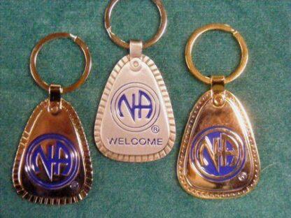 NA Metal Decades Key Tag Lg