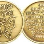 NA Specialty Medallions Let Go and Let God