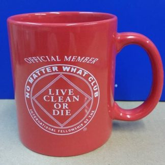 No Matter What mug (red)