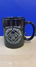 NA Coffee Mugs No Matter What  mug (black)