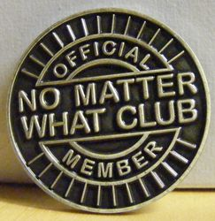 No Matter What Lapel Pin