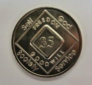 Arabic Numeral Medallions 35 yr