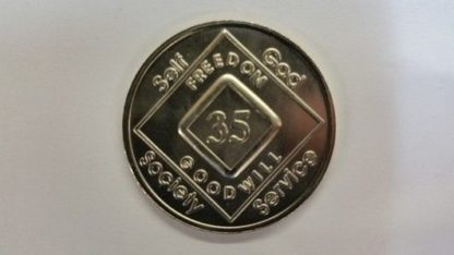 Arabic Numeral Medallions 34 yr