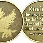 NA Specialty Medallions Bronze NA Specialty Medallion Kindness
