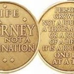 NA Specialty Medallions NA Specialty Medallion Life is a Journey, Not a Destination
