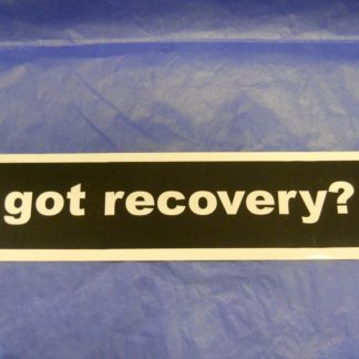 Got Recovery? – Bumper Sticker