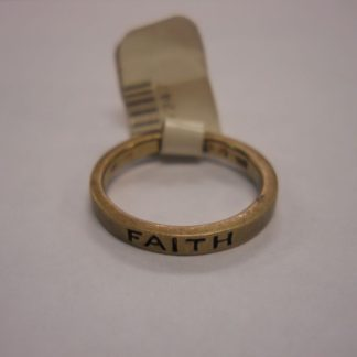 """Faith"" Ring – Gold"