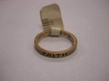 """""""Faith"""" Ring – Gold"""