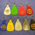 NA Recovery Key Tags International Key Tag Set