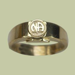 Gents Ring with Logo (NA)