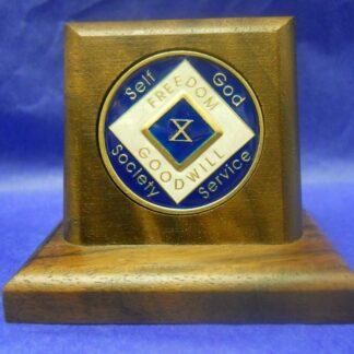 Medallion Holder with Base
