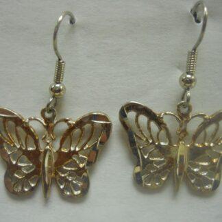 Large Butterfly Earrings