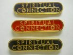 NA Lapel Pins Spiritual Connection Black