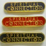 NA Lapel Pins Spiritual Connection Black