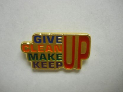 Give, Clean, Make & Keep… UP