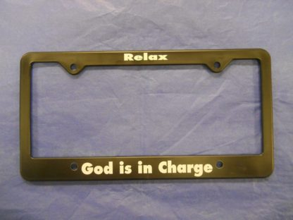 Relax – God is in Charge