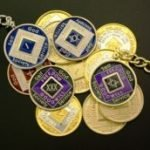 Keychain Medallion Holders and Metal Key Tags NA Key Chain Medallion Holder Gold Tone