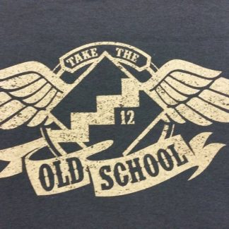 NA Black T-Shirt Old School-Front