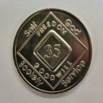 NA Arabic Numeral Medallions Arabic Numeral Medallions 31 yr