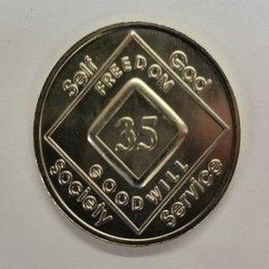 Arabic Numeral Medallions 31 yr