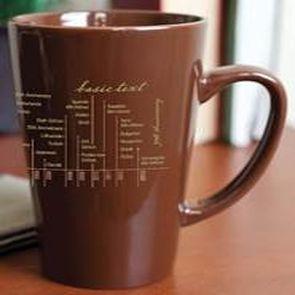 Basic Text Mug 30th Anniversary
