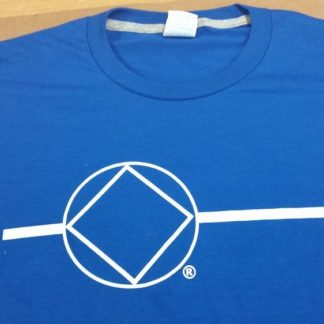 NA Blue T-Shirt NA Symbol on Front