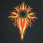NA T-Shirts Flame with NA Logo T-Shirt