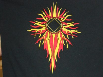 Flame with NA Logo T-Shirt