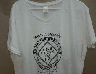 Ladies Official Member Poly T-Shirt White