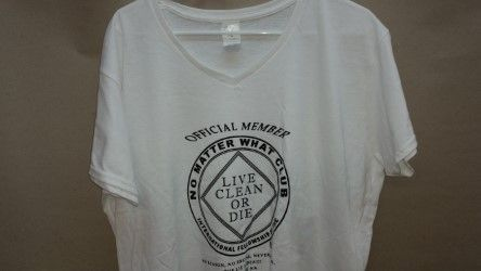1ef84dd1bbd Ladies Official Member Poly T-Shirt White