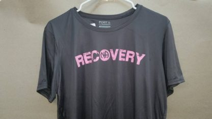 Ladies Poly T-Shirt Recovery Grey