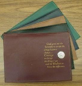 NA Single Book Cover Serenity Prayer