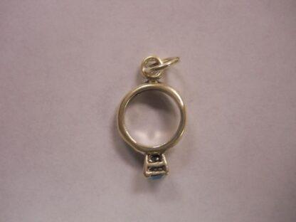 Charms  #36 w/CZ  Birth Stones: Garnet