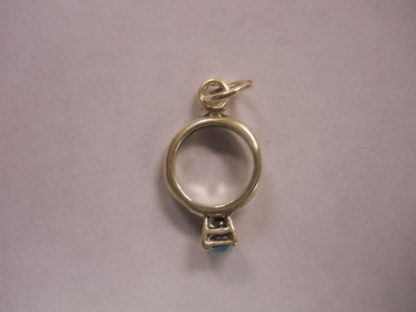 Charms  #36 w/CZ  Birth Stones: Emerald