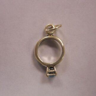 Charms  #36 w/CZ  Birth Stones: Diamond